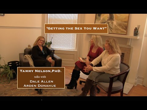 Dale Allen and Arden Donahue with Dr. Tammy Nelson