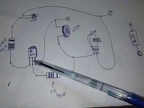 Projete um sensor de luz com ldr vb tecnologia youtube - Sensor de luz precio ...