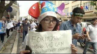 Truyền thông Việt Nam không đưa tin về các cuộc biểu tình vụ cá chết