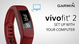 02. Garmin vívofit 2: Pairing with your Home Computer