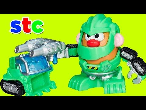 Mr Potato Head Rescue Bots Boulder El Robot Constructor
