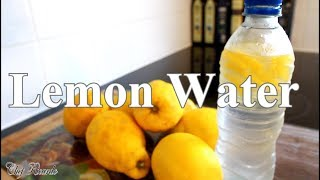 Lemon Water Benefits How TO Make Best Lemon Water For Detox Drink | Chef Ricardo Cooking