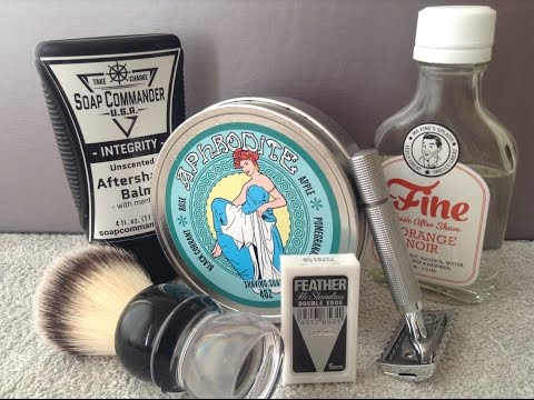 The Best Shave I've Ever Had And A Epic,Epic Mail Call/Unboxing