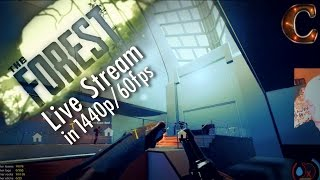 The Forest, Live Stream Co-Op w/ Madam RB on Hard, 1440p! Part 11: Finale of the Main Story