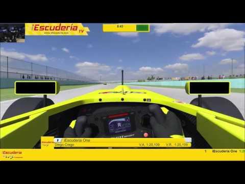 iEscudería   La Carrera de los lunes de iEscuderia   Homestead Miami   Formula Renault 2 0