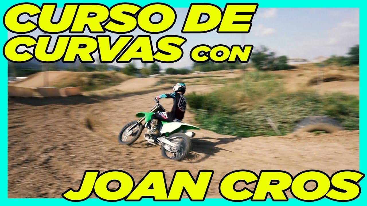 CURSO con JOAN CROS   CURVAS ENDURO/MOTOCROSS   DISTRITO ENDURO