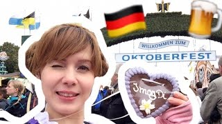 FOLLOW ME AROUND OKTOBERFEST! BIGGEST BEER FESTIVAL OF THE WORLD in GERMANY, BAVARIA