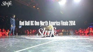Isaiah vs Fleau | Red Bull BC ONE North America 2014 | Top 8 | Strife.TV