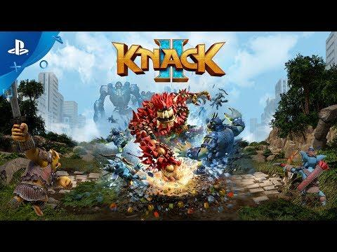 Knack 2 - PS4 Trailer | E3 2017