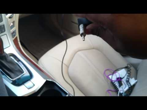 Cadillac CTS How to stream music through Bluetooth