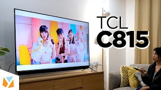 TCL C815 Unboxing and Hands-On (+ GIVEWAY!)