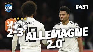 Pays-Bas vs Allemagne (2-3) QUALIFS EURO - Débrief / Replay #431 - #CD5