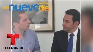 Un chiste que le costará caro al presidente de Guatemala   Un Nuevo Día   Telemundo