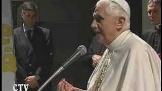24.2.2008 - PAPST BENEDIKT BESUCHT STA. MARIA LIBERATICE (5)