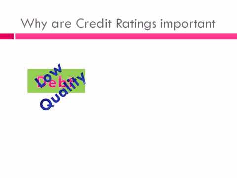 What are Credit Rating Agencies?