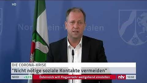 Live: Pressekonferenz der Bundesregierung zur Corona-Krise.