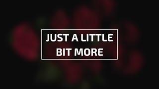 Gambar cover JINHO & ROTHY - JUST A LITTLE BIT MORE LEGENDADO