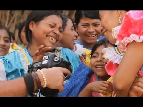 Первая фотосессия в племени индейцев Майя | За кадром 🌏 Моя Планета