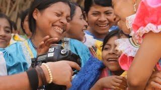 Первая фотосессия в племени индейцев Майя