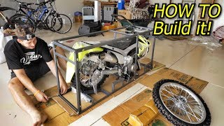 UNBOXING MY NEW PIT BIKE! Thumpstar 140cc