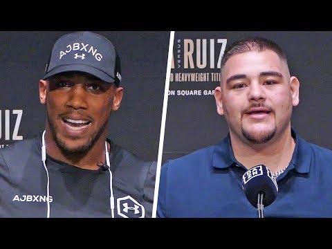 Anthony Joshua vs Andy Ruiz  FINAL PRESS CONFERENCE  Matchroom Boxing USA
