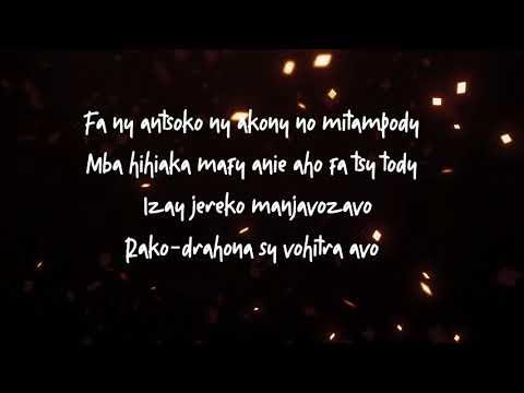 Mahaleo (Fafah) -EMBONA SY HANINA [ parole ] │by Lyrics Mada 2019