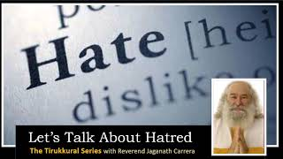 Let's Talk About Hatred