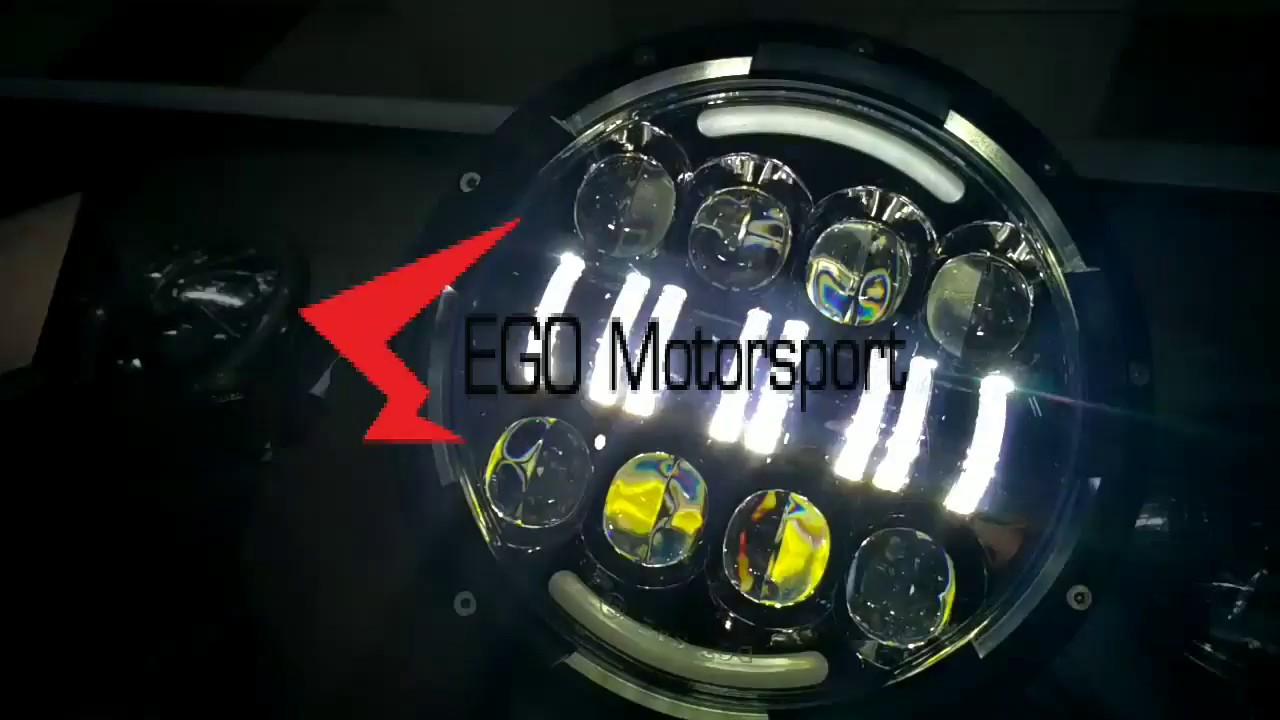Review Lampu Led Daymaker Ourvision Spider Eyes 7inc Bulat Drl Stop Cb 150r