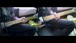 KEYTALK のa leaf をコピーしました! 間奏とかで真ん中から原曲のギタ...