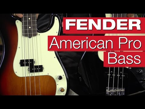 Fender American Pro Precision & Jazz Bass Review von session