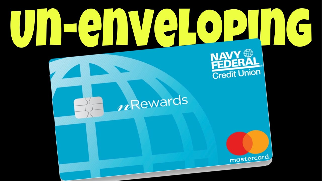 Navy Federal Secured Credit Card Un Enveloping Youtube