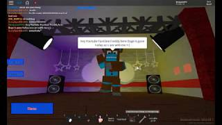FunTime Freddy was Playing Animatronic World ON MY ACOUNT!!!! Roblox
