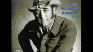 Don Williams - Leaving for the Flatlands.wmv