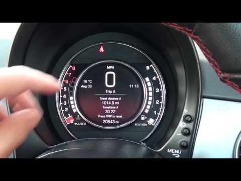Fiat 500 Dashboard Warning Lights Engine Start