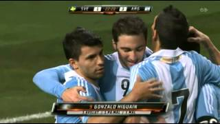 Sweden - Argentina 2-3. All goals and highlights. Friendly Match (06/02/2013)