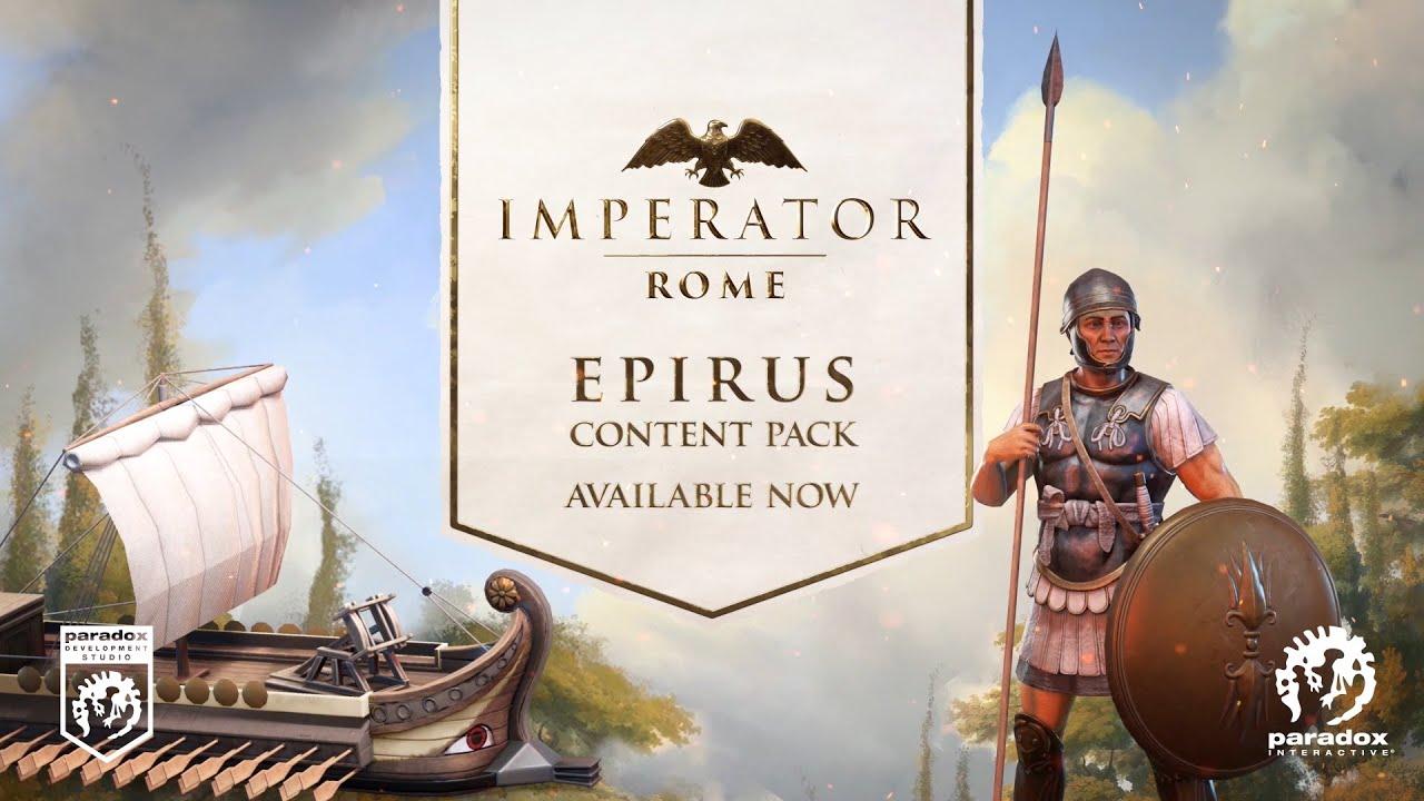 Imperator: Rome | Epirus Content Pack | PEGI