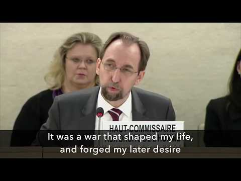 "U.N. rights chief compares ""Palestinian suffering"" to Holocaust"