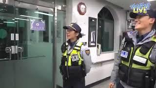 180201 김준수  김형준 xia junsu 경기남부경찰홍보단