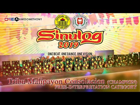 Tribu Malipayon Consolacion, Cebu (CHAMPION) FREE-INTERPRETATION CATEGORY. Sinulog Festival 2019