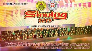 Tribu Malipayon Consolacion, Cebu (CHAMPION) FREE-INTERPRETATION CATEGORY. Sinulog Festival 2019 thumbnail