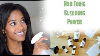 NON TOXIC DIY Disinfecting Cleaner | Cleaning and Disinfecting With Essential Oils
