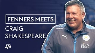 Tracksuit or Suit?! | Fenners Meets Craig Shakespeare