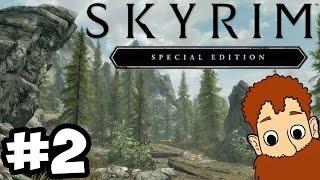 Skyrim Special Edition Xbox One - OLD HROLDAN TOWN! Ben Plays #2