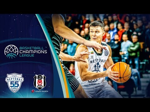 Neptunas Klaipeda V Besiktas Sompo Sigorta – Highlights – Basketball Champions League 2019-20