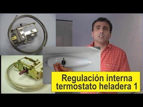 Curso De Refrigeración, Regulación De Termostato 1