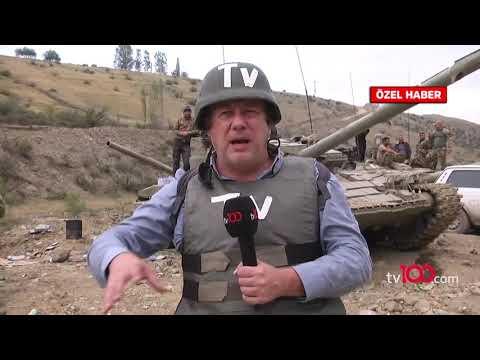 Azerbaycanlı askerler tv100'e konuştu