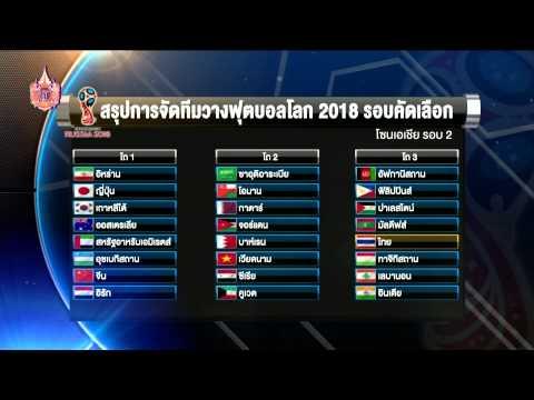 แข้งไทยกับการจับสลากฟุตบอลโลก