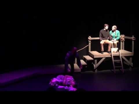 """The Skeleton Woman- from """"Story Spirits"""" NC State University Theatre"""