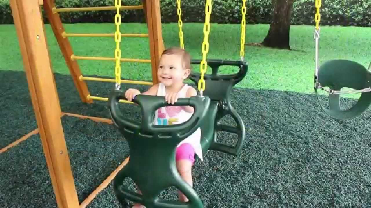 Horse Glider Swing For Swing Set Youtube