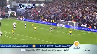 أهداف أرسنال ضد فولهام 3-1